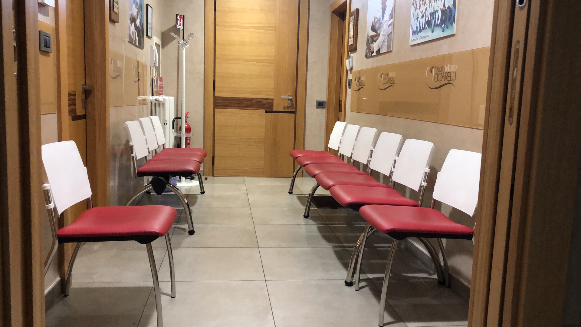 sala d'attesa Studio Ciciarelli